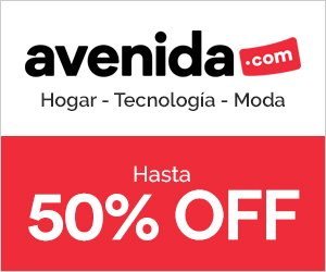 Hasta 50% OFF en la tienda online Avenida