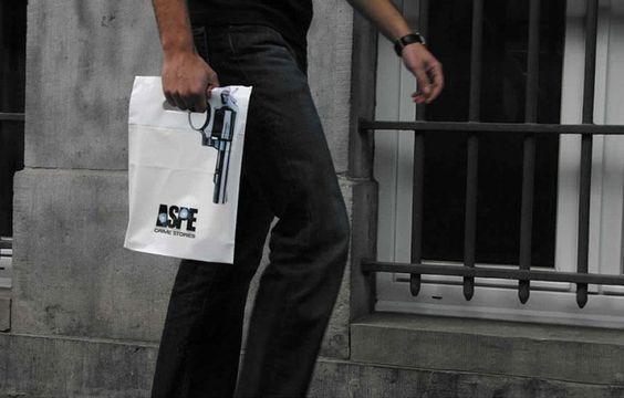 Interesante diseño de bolsa