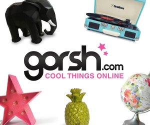 objetos de diseño en la tienda online de Gorsh