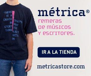 Venta online de remeras de Metrica Store