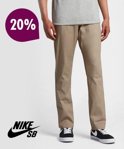 Cyber Monday: Pantalón - Nike SB 20%