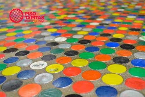 Pisotapitas - Revestimiento sustentable
