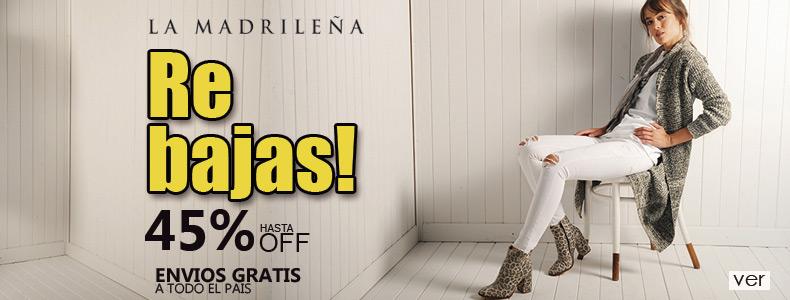 Rebajas en la tienda online de La Madrileña