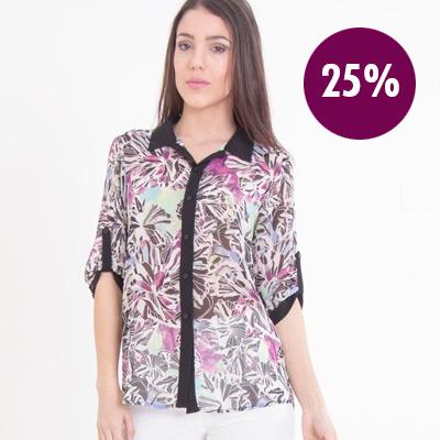 27% Camisa Mia Loreto
