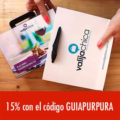 15% en Valija Chica